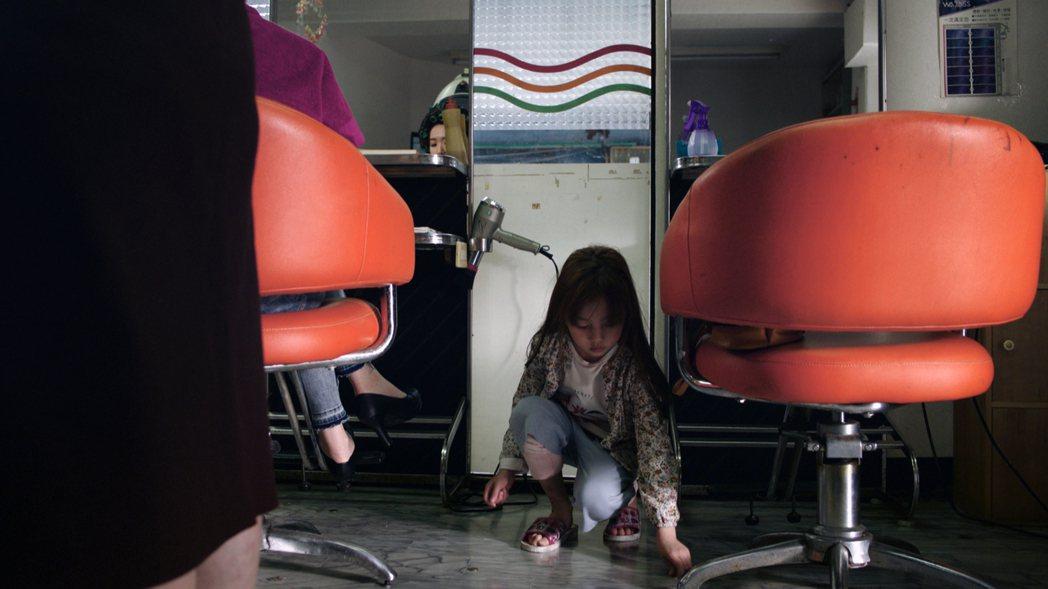 翁妮妮一聽到地震,就害怕眼眶泛淚。圖/三立提供