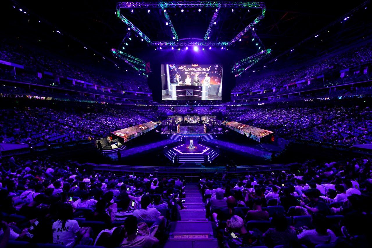 Dota 2國際邀請賽主賽事,20日起在上海登場。(路透)