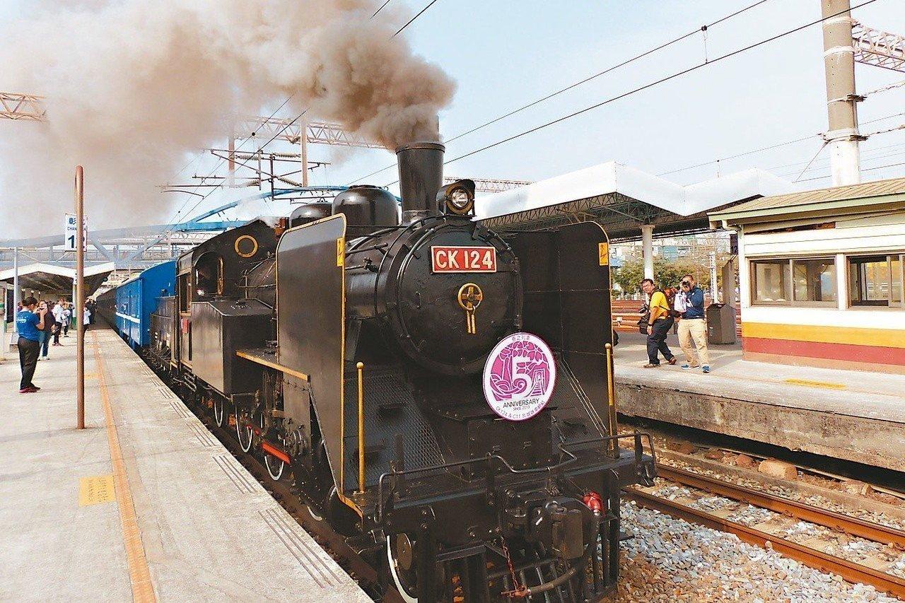 蒸汽火車有望噴煙!文資法擬修法動態保存蒸汽火車