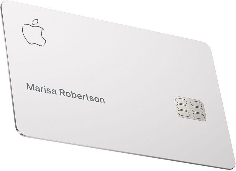 蘋果推出的信用卡。網路圖片。