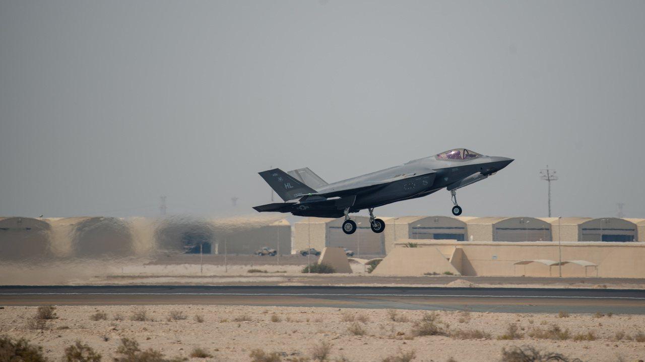 F-35A閃電II式戰機是最尖端的戰機。路透