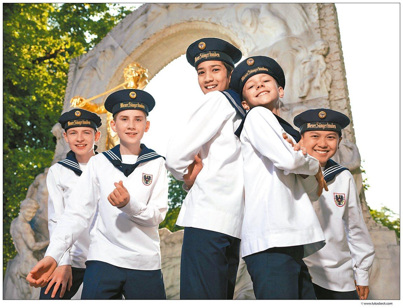 享譽全球的維也納少年合唱團,10月將再度來台開唱。 圖/傳大藝術提供