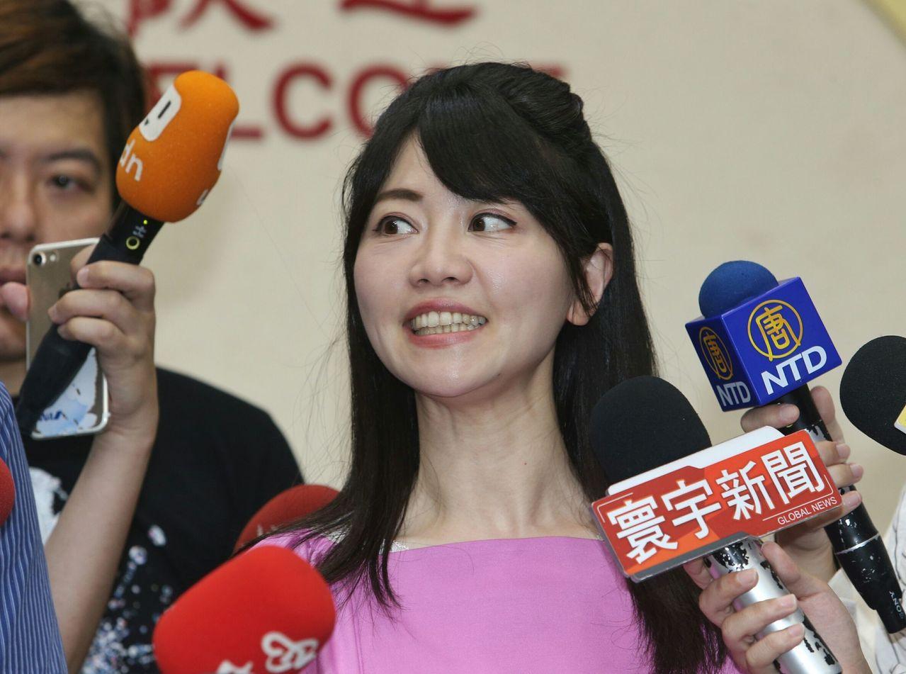 台北市議員高嘉瑜。 圖/聯合報系資料照片