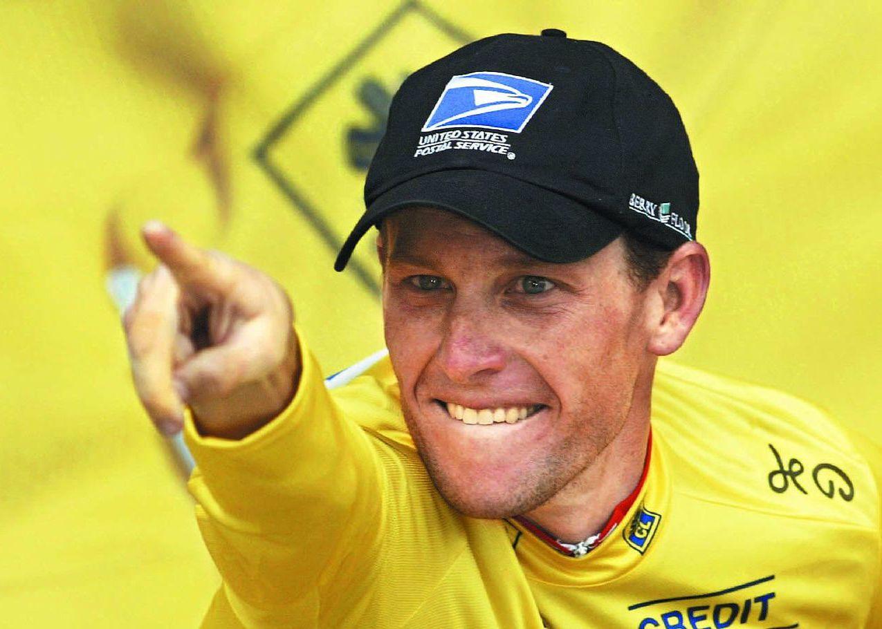 自行車選手藍斯.阿姆斯壯。 (法新社)