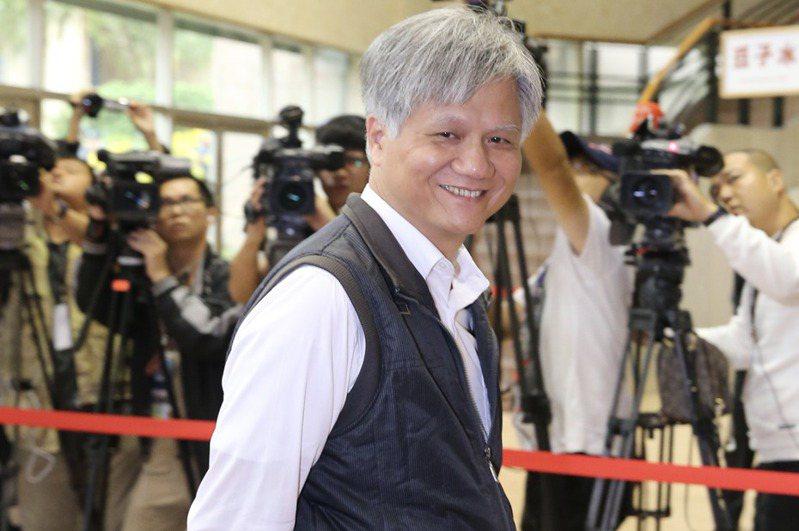 前台北市長參選人、新政黨「白色聯盟」執行長吳蕚洋。聯合報系資料照/記者許正宏攝影