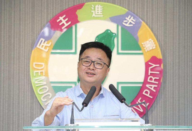 民進黨秘書長羅文嘉(圖)。 聯合報系資料照片/記者許正宏攝影