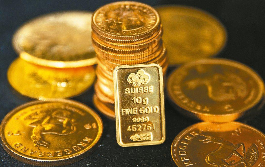 政策風險升溫,黃金是不錯的避險工具。 本報系資料庫