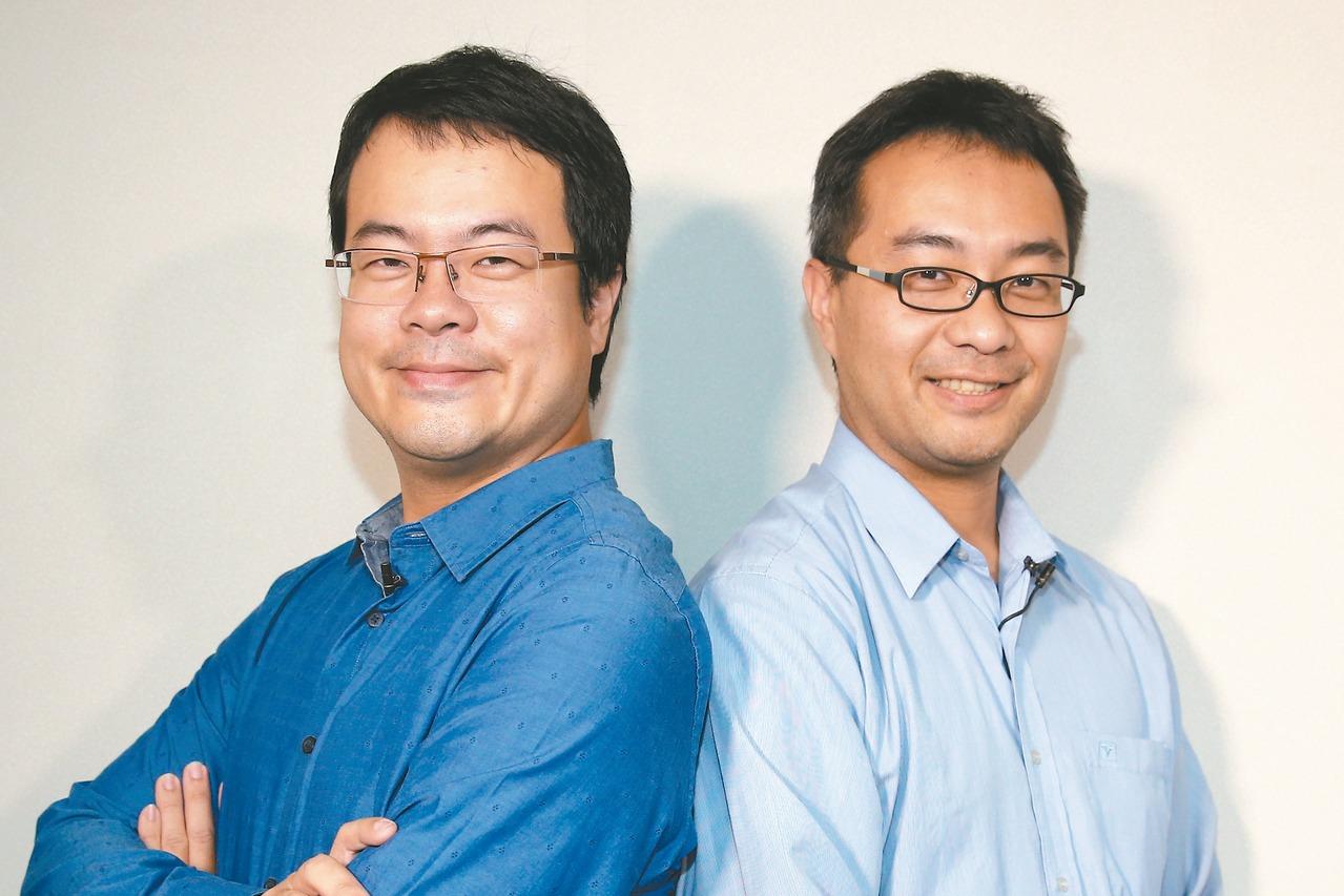 創業家兄弟董事長郭書齊(左)松果購物董事長郭家齊 (聯合報系資料庫)
