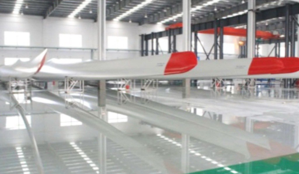 天力公司大陸生產廠區。 天力/提供