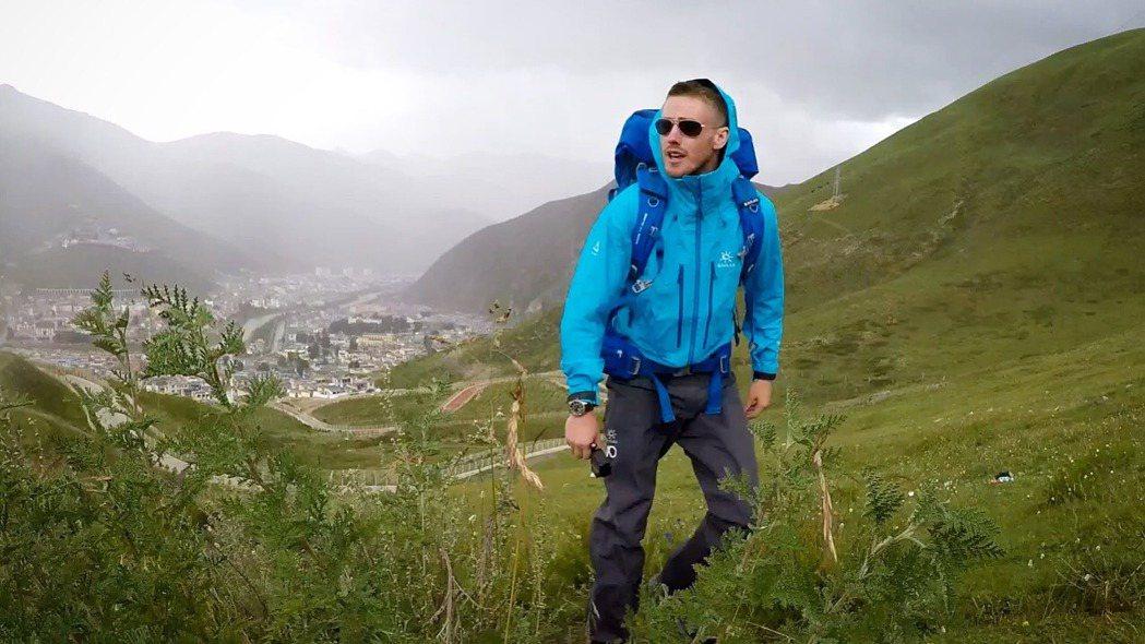英國小伙352天成為徒步長江全程世界第一人 取自微博 AshDykes小戴。