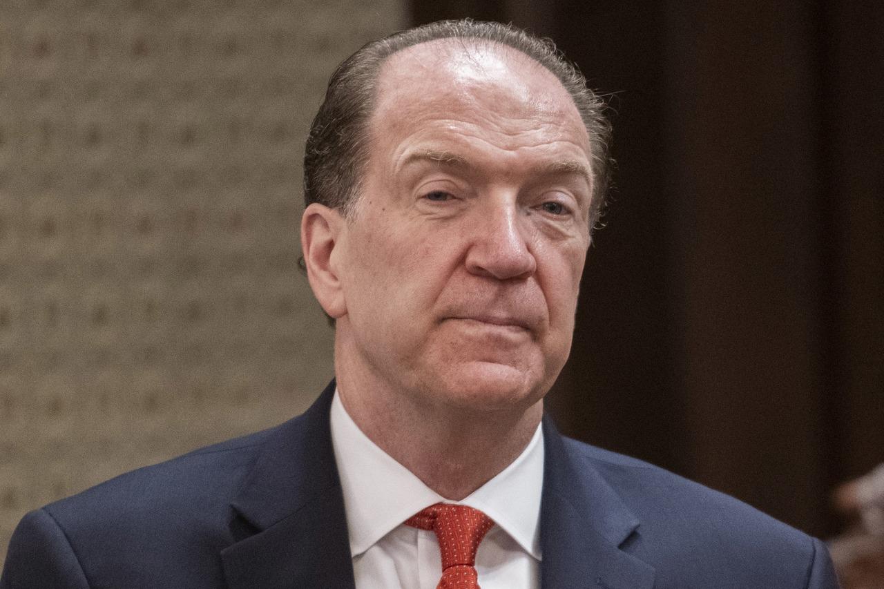 世界銀行總裁馬爾帕斯(David Malpass)。 歐新社