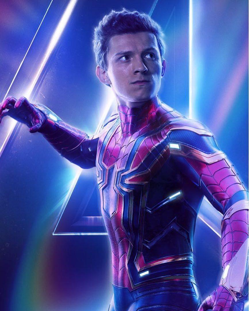 湯姆霍蘭德飾演蜘蛛人。 圖/擷自湯姆霍蘭德IG