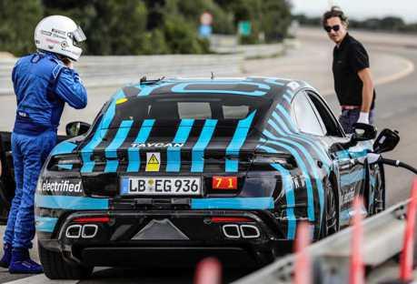 再兩週就要發表 全新Porsche Taycan於24小時內完成3,245公里耐力測試!