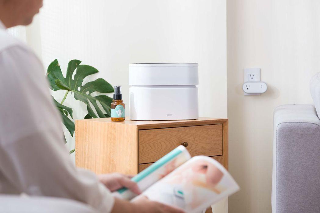搭配專用淨化液,可讓室內空氣更清香。 Opro9 /提供