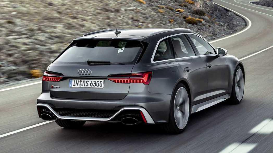 Audi RS6 Avant。 摘自Audi