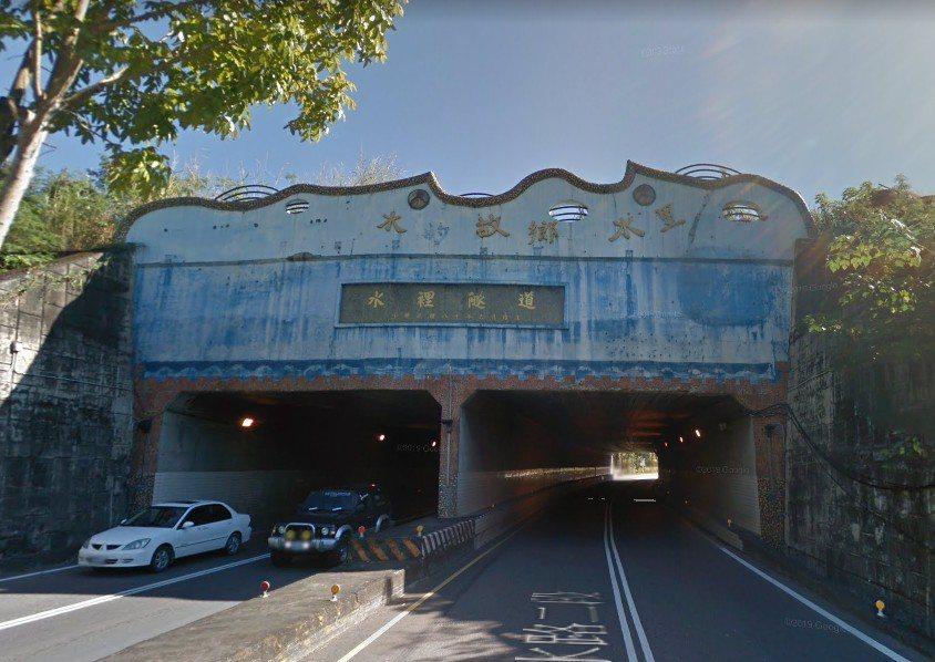 原po經過的「水裡隧道」附近便是集及火葬場。圖擷自Google Map