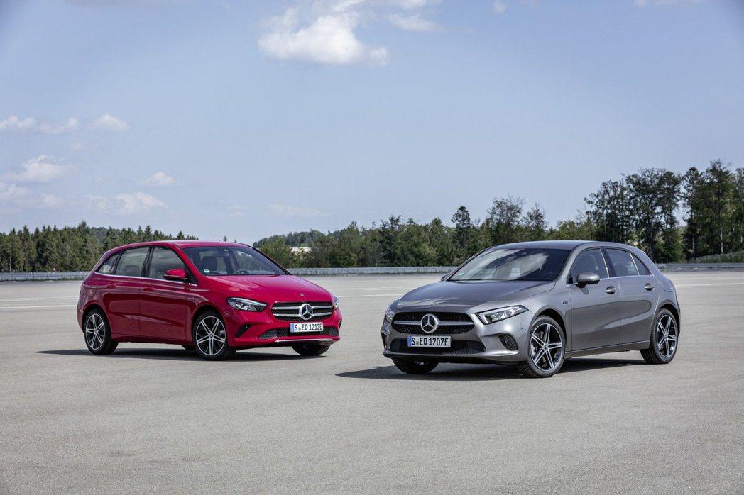 全新Mercedes-Benz A 250e、B 250e成為首款導入EQ Po...