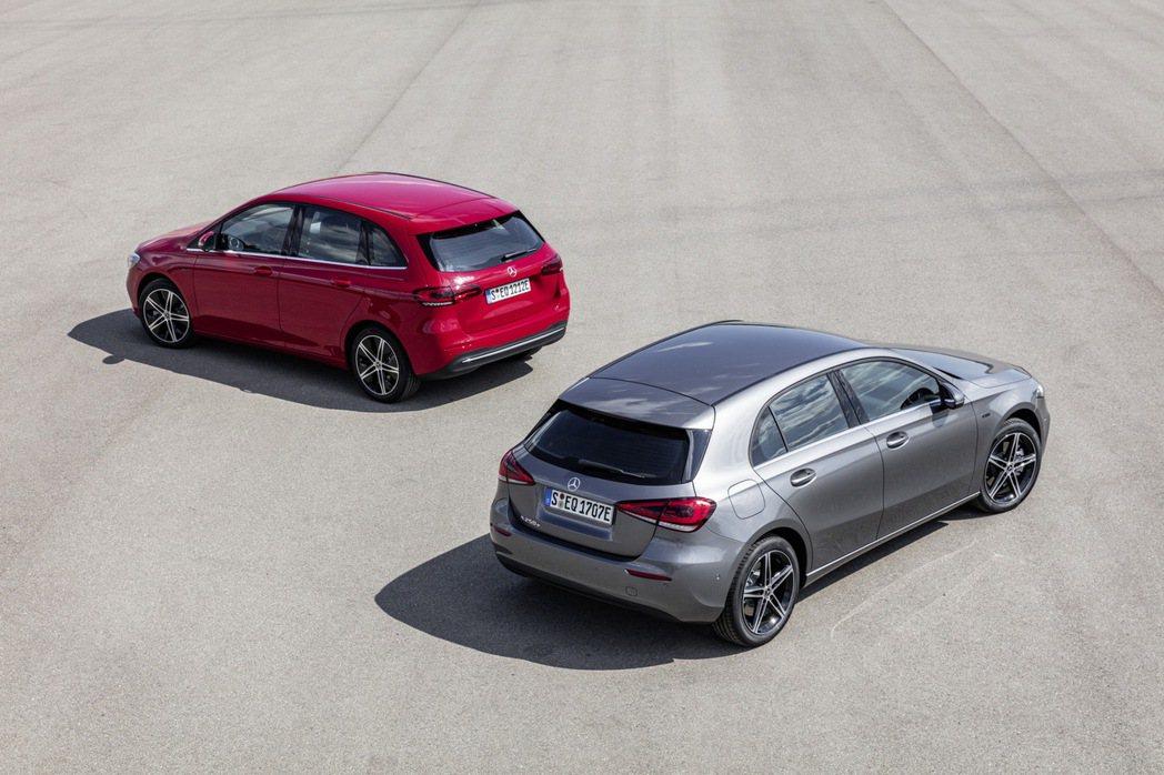 全新Mercedes-Benz A250e、B250e的售價皆已公佈。 摘自Me...