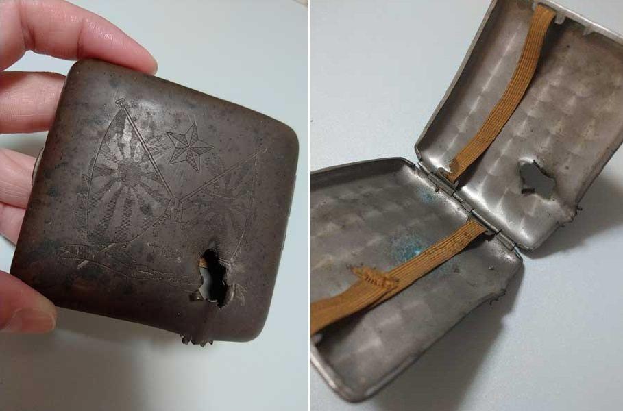 日前一名日本網友將自己家中的傳家寶PO上網,仔細一看竟是一個破爛鐵盒,但它背後的...