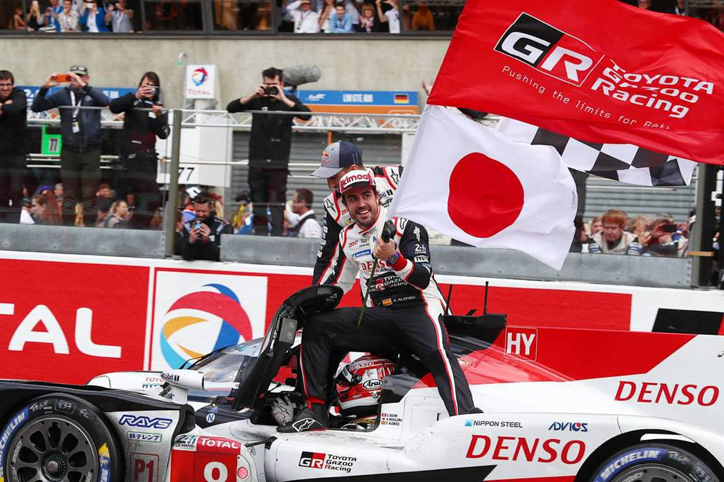 Fernando Alonso連兩年與Toyota Gazoo Racing拿下...