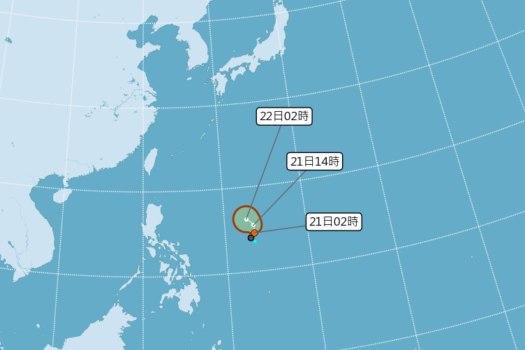 白鹿颱風恐成形 吳德榮:威脅台灣機率不容忽視