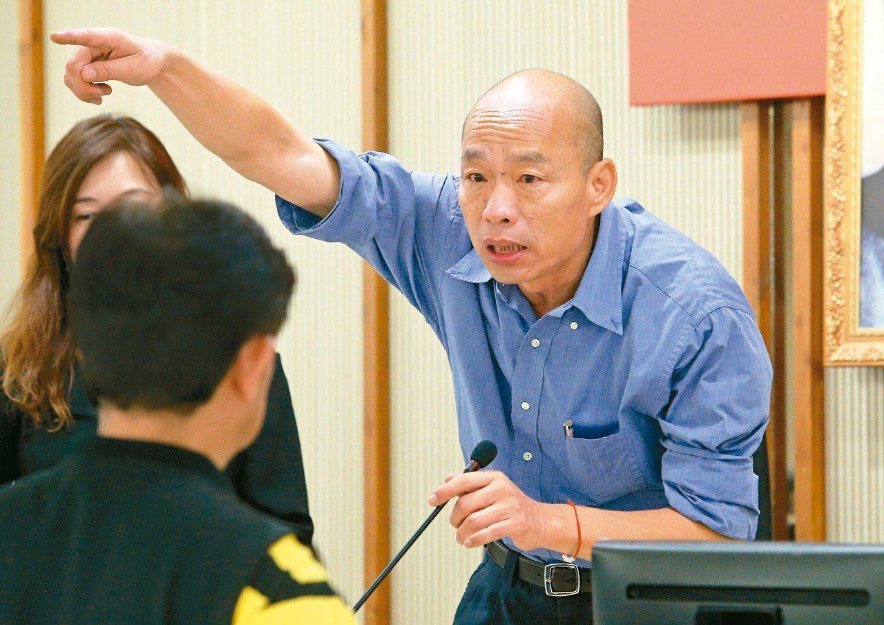 高雄市長韓國瑜。圖/本報系資料照