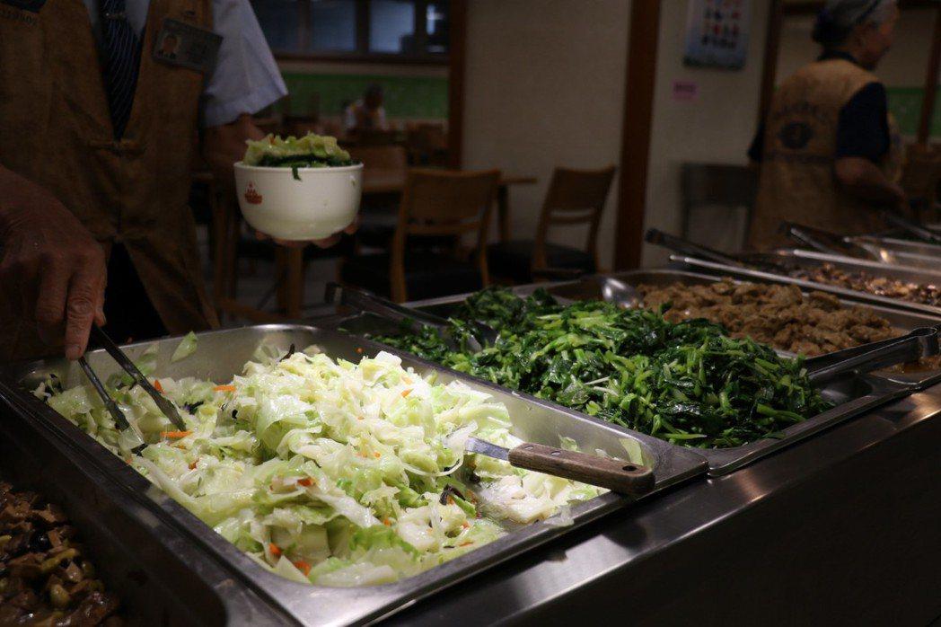 三餐定食定量,養成均衡飲食的健康飲食型態十分重要。記者余采瀅/攝影