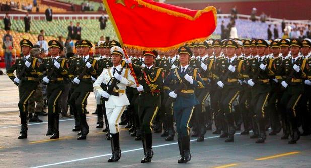 為中共建政七十周年活動,中共郵政管理局規定 嚴禁無人飛機遙控地雷寄往北京。(美聯...