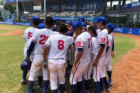U15亞青少棒/中華扣倒菲律賓 小組第二晉四強