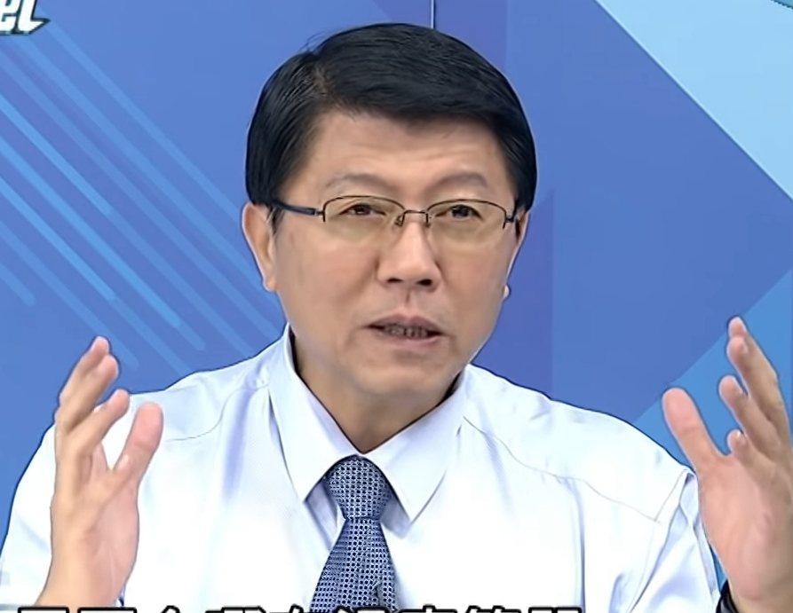 國民黨台南市黨部主委謝龍介。記者修瑞瑩/翻攝