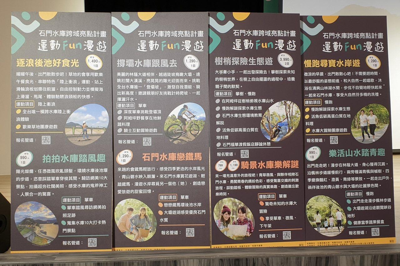運動Fun漫遊規畫8條旅遊行程,都是新玩法。記者鄭國樑/攝影