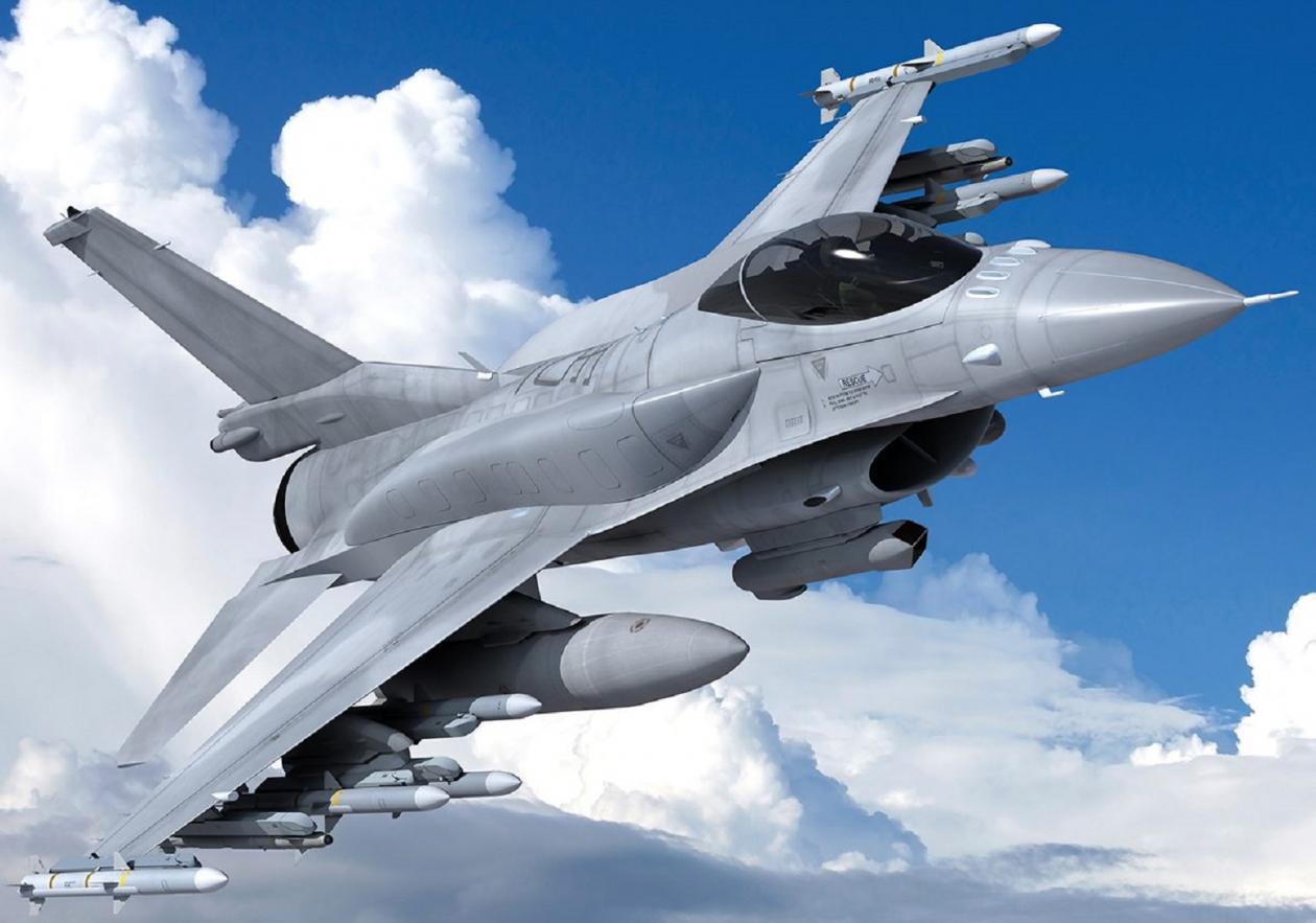 F-16C Block70戰機。圖╱洛克希德馬丁