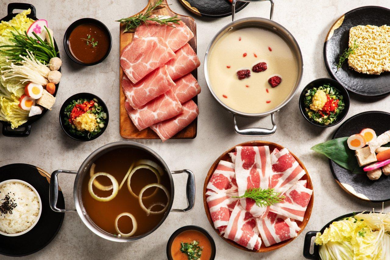 肉多多為慶祝3週年,推出「究愛小鮮肉」、「搭訕小纖女」等2系列紀念套餐。圖/肉多...