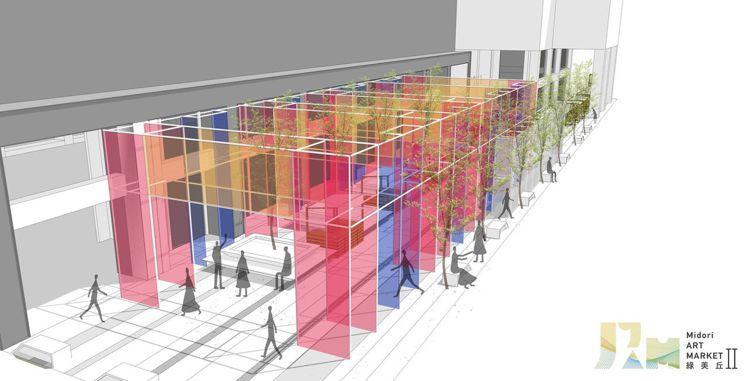 台中綠美丘藝術市集即將到台北展出。圖/摘自綠美丘粉絲專頁