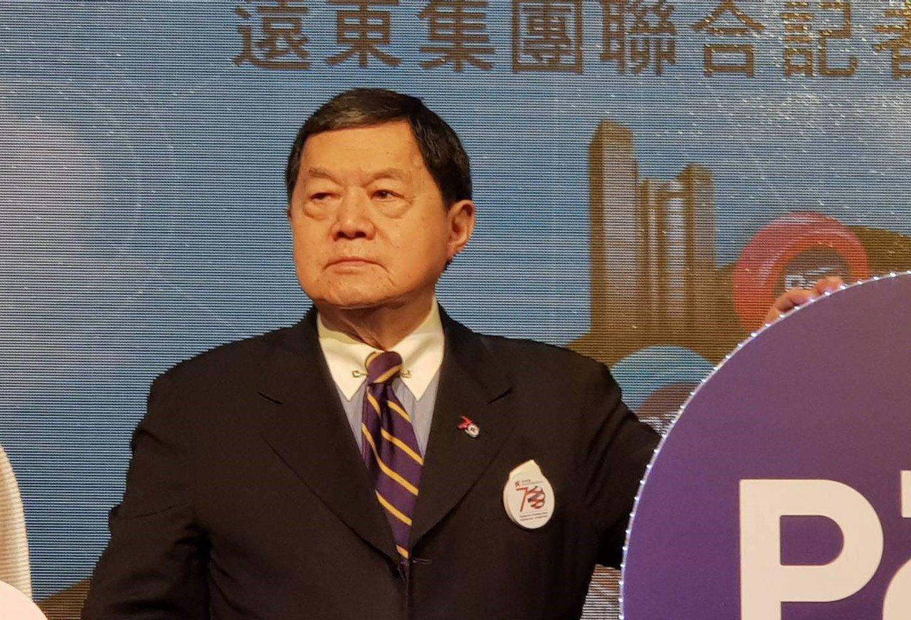 遠東集團董事長徐旭東認為工資調漲應視各產業能力而調整。記者戴瑞瑤/攝影