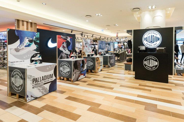 位於統一時代百貨台北店的UGLY BEAUTY快閃展。圖/PALLADIUM提供