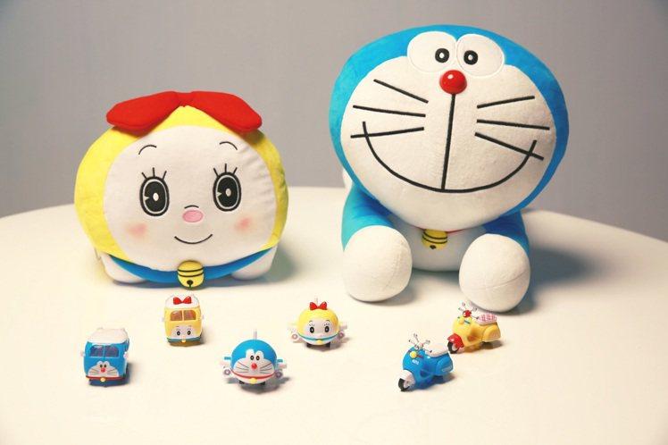 7-ELEVEN將於8月28日起推出「哆啦A夢神奇道具集點」活動,造型玩具飛機、...
