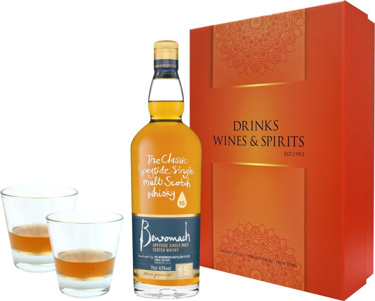 英國百樂門經典15年單一麥芽蘇格蘭威士忌桔利禮盒,特價2,988元。圖/橡木桶洋...
