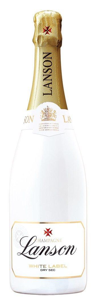 法國蘭頌雪白香檳,兩瓶特價3,998元。圖/橡木桶洋酒提供