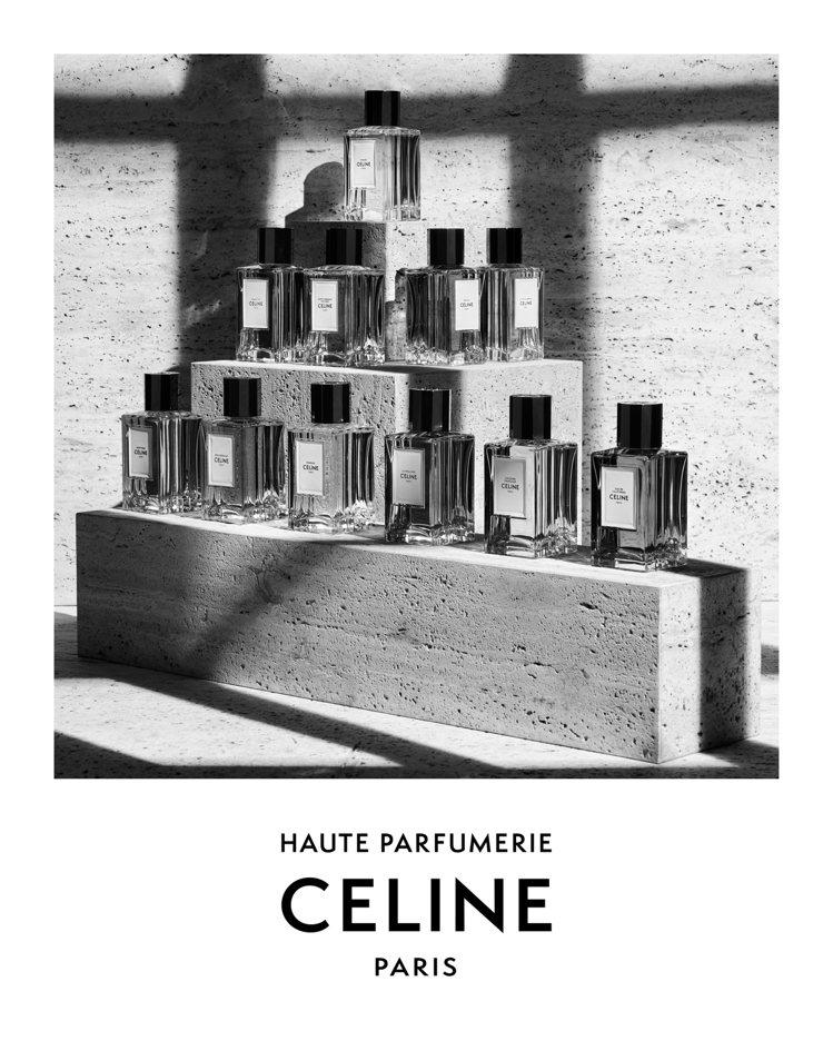 Hedi Slimane推出CELINE高級訂製香水系列,以白晝與夜幕為題共11...