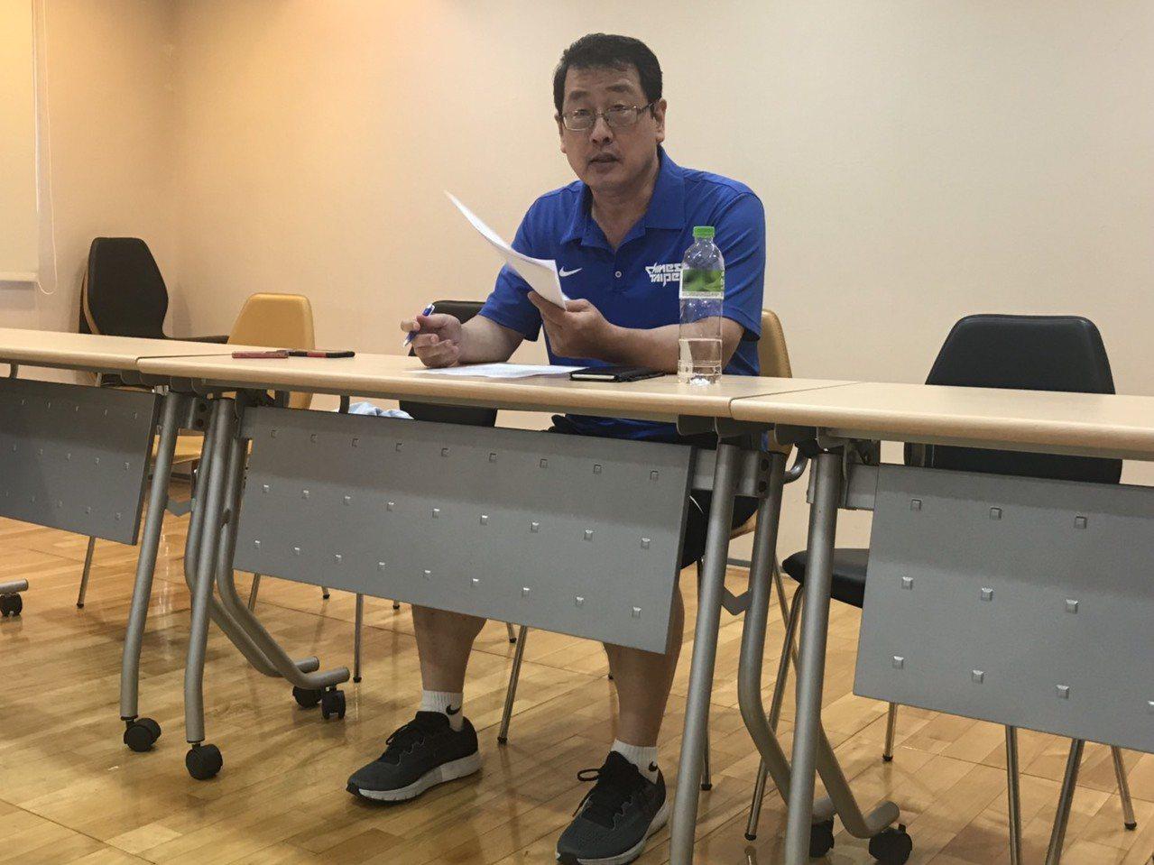 第17季SBL球團會議在今天達成五點共識。記者劉肇育/攝影