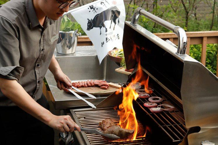 樂軒和牛專賣店今年再度推出「燒肉管家到你家」的和牛烤肉派對服務。圖/樂軒提供