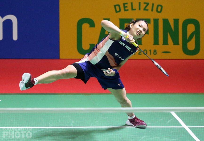 戴資穎。 圖/Badminton Photo提供(資料照)