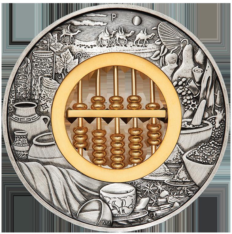 台灣銀行即日起推出「如意算盤2英兩仿古銀幣」,每枚售價5670元,適合收藏紀念及...