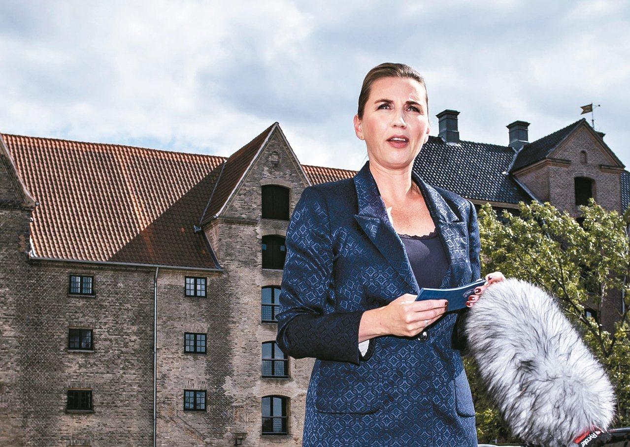 丹麥總理佛瑞德里克森。 (歐新社)