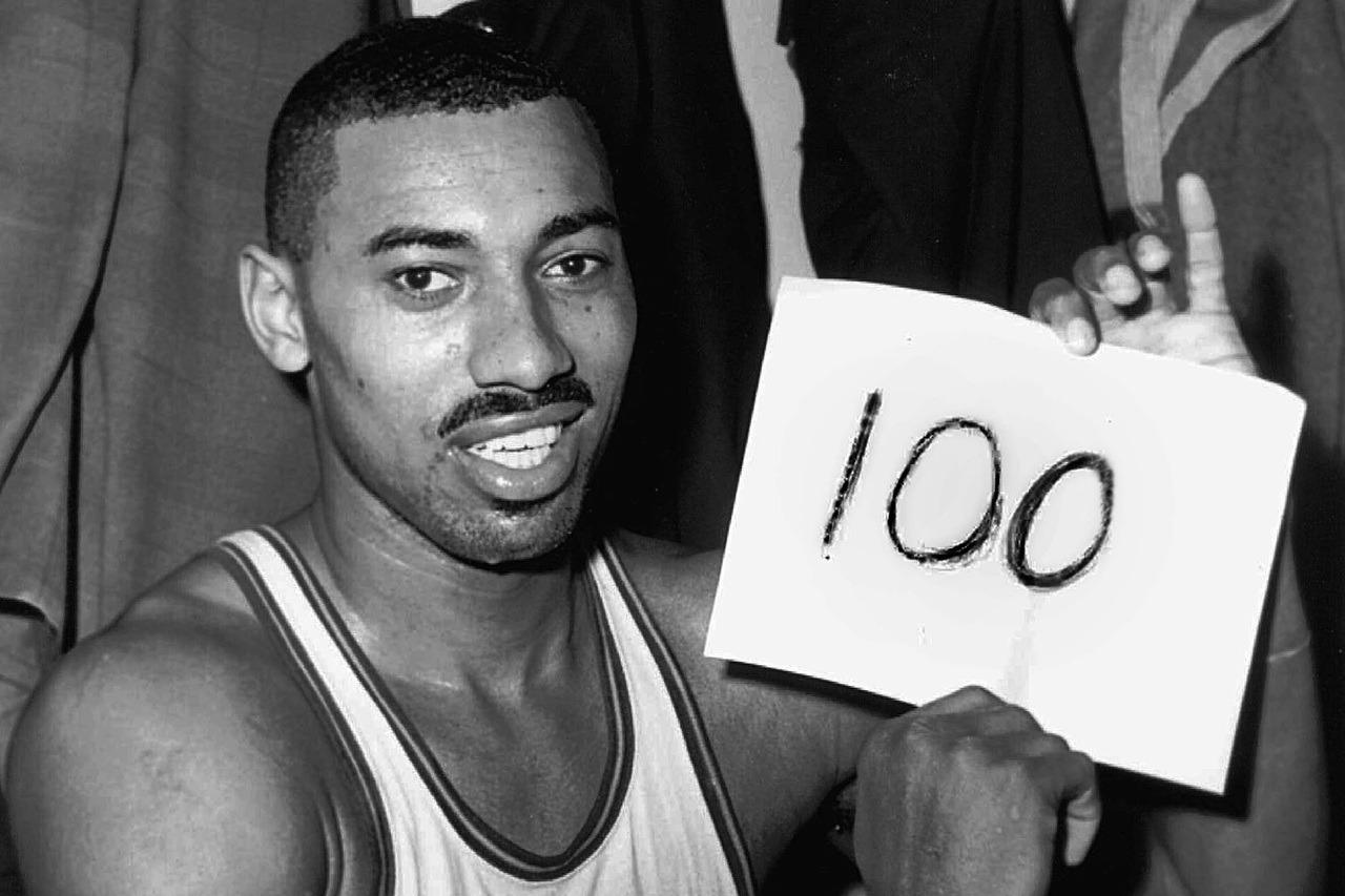 NBA傳奇球星張伯倫。 資料照(美聯社)