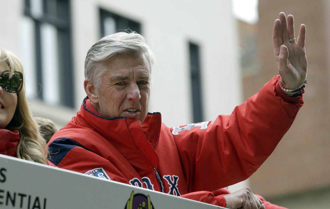 紅襪總裁唐布洛斯基。 美聯社