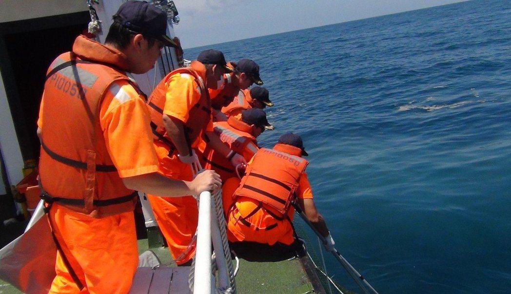 「海巡傳說」無科學根據,但多數的海巡人寧可相信,不敢太鐵齒。 圖/海巡提供