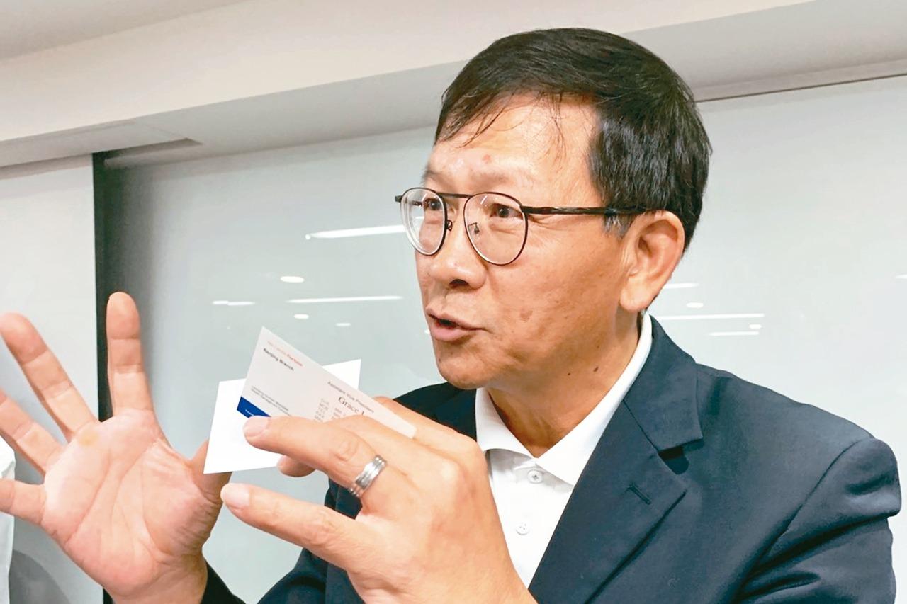 泰碩總經理梁竣興 記者陳昱翔/攝影