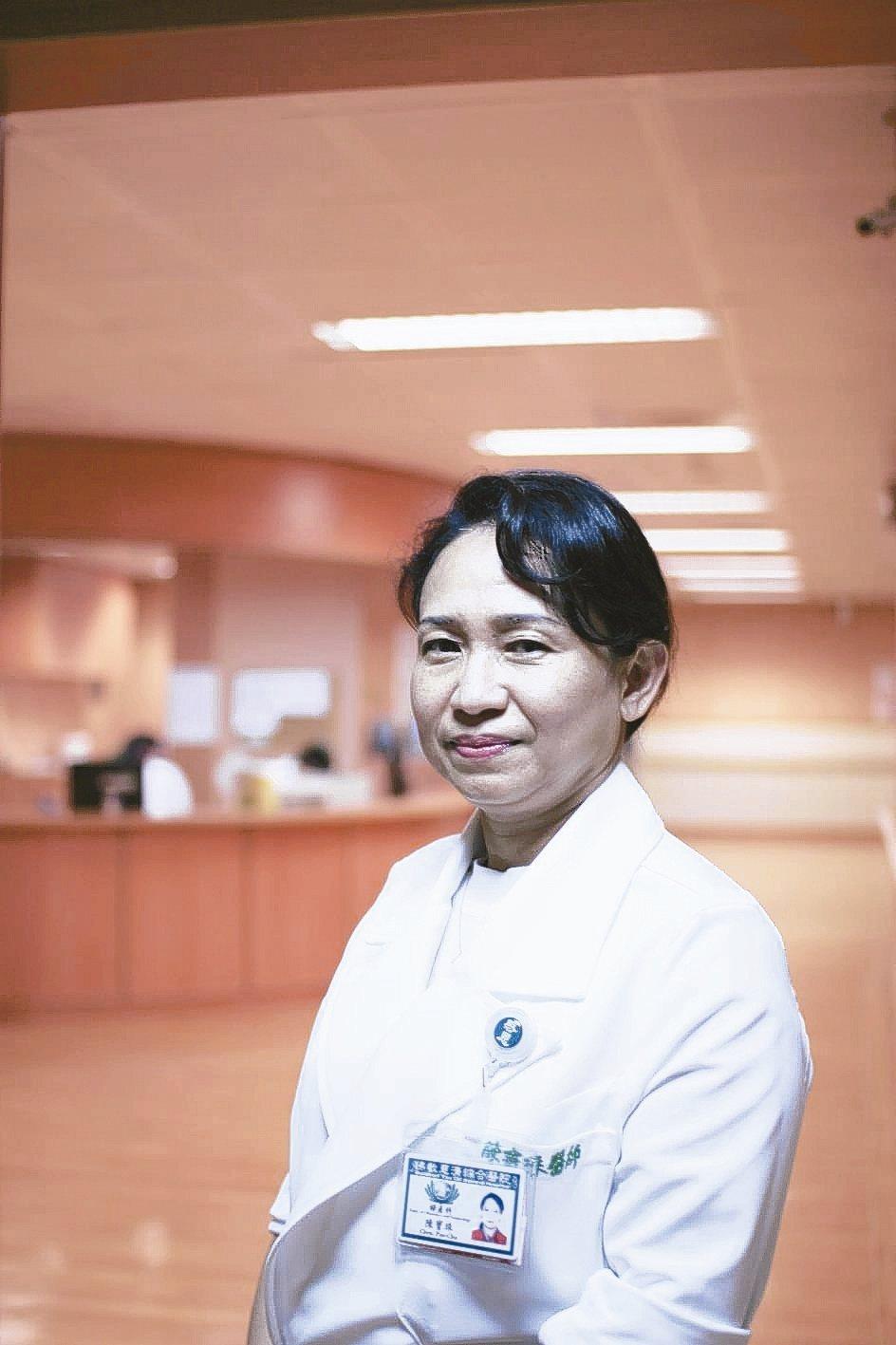 花蓮慈濟醫院婦產部生殖內分泌科主任陳寶珠醫師。 花蓮慈濟醫院/提供